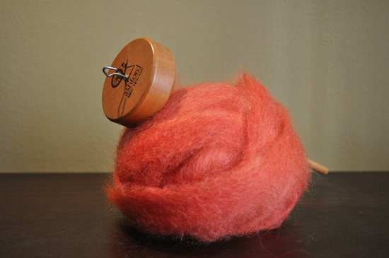 Ashford spindle and romney roving